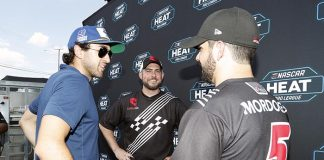 E Sports Hendrick drivers. (Photo courtesy Hendrick Motorsports)