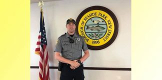 Seaside Park Police Officer Daniel Maguire. (Photo courtesy Seaside Park Police)