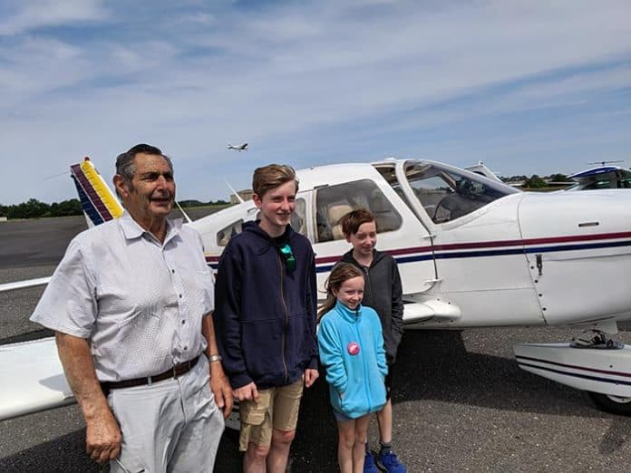 Created in 1992, the EAA Young Eagles Program is intended to incite interest in aviation among youth. (Photo courtesy EAA)