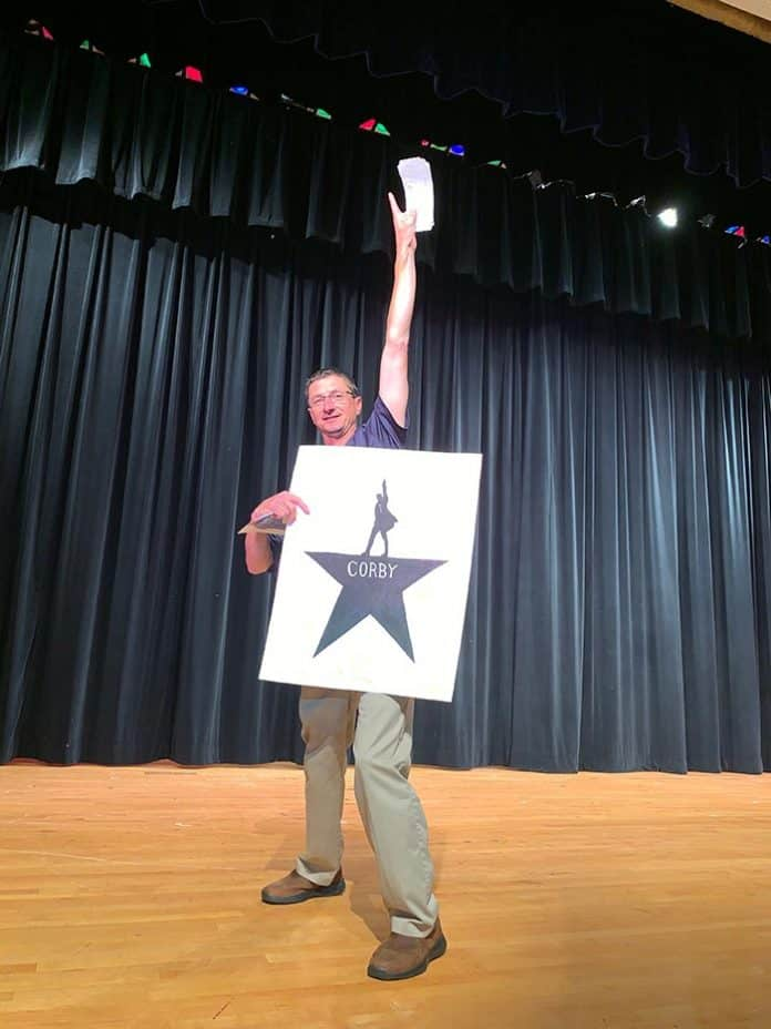 Teacher Thomas Corby is going to see Hamilton. Finally. (Photo courtesy Thomas Corby)