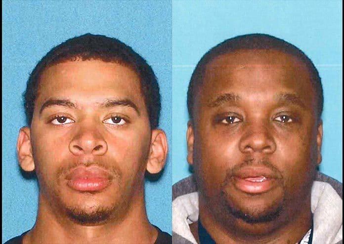 Kadeem Evans and Michael Trotman. (Photos courtesy Ocean County Prosecutor's Office)