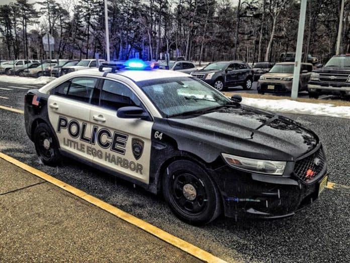 Little Egg Harbor Police. (Photo courtesy Little Egg Harbor Police)