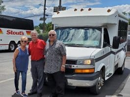 Shawn Stout, Vincent and Harriet Zenna. (Photo courtesy Stout's)