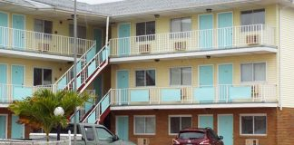 Surfside Motel in Seaside Heights. (Photo courtesy Ocean County Scanner News)