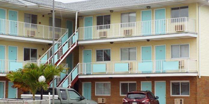 Surfside Motel in Seaside Heights. (Photo courtesy Ocean County Scanner News)