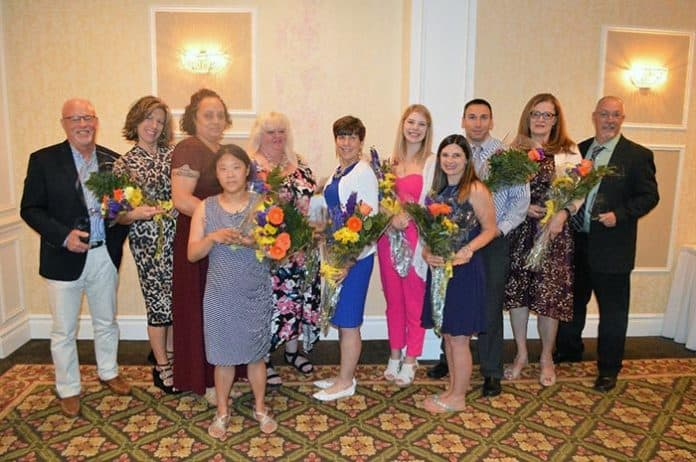 TOMS RIVER – The Ocean County Chapter of The Arc honored 11 individuals at the 2019 Catalyst Awards June 5. (Photo courtesy The Arc Of Ocean County)