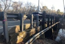 The Ridgeway Boulevard Bridge is scheduled to be replaced. (Photo by Chris Lundy)