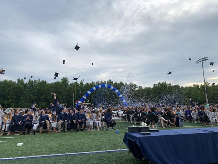 Howell High School graduation. (Photo courtesy Freehold Regional High School District)