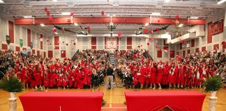Jackson Liberty High School graduation. (Photo courtesy Jackson Township School District)