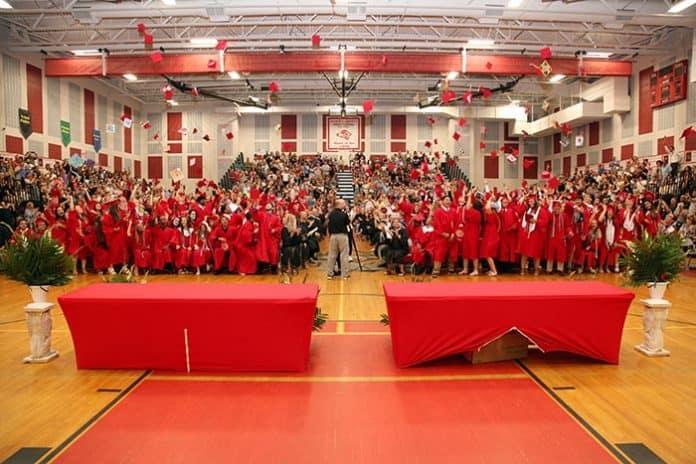Jackson Liberty High School graduation. (Photo courtesy Jackson Township School District)