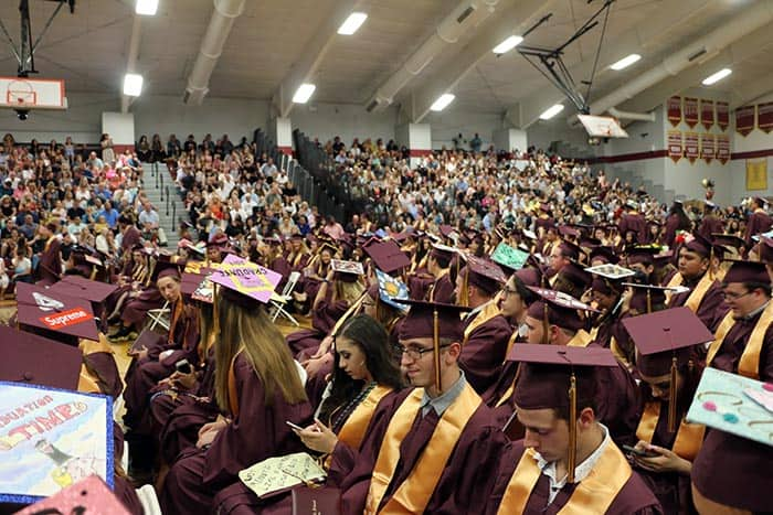 Central Regional graduation. (Photo courtesy Central Regional School District)