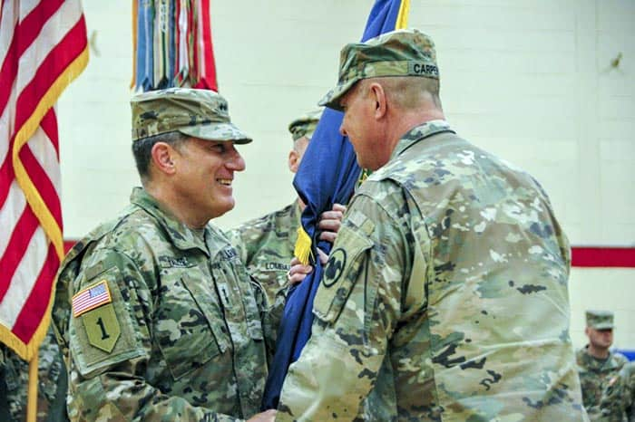 Jackson resident Major General Mark W. Palzer noted the June 14 224th anniversary of the U.S. Army as well as Flag Day. (Photo courtesy U.S. Army Reserve)