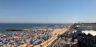The Asbury Park boardwalk. (Photo courtesy Asbury Park Boardwalk, Facebook)