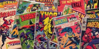 Comic books. (Photo courtesy http://thoughtforyourpenny.com)