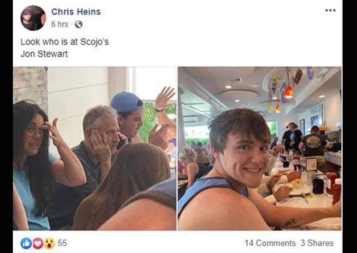 (Courtesy Chris Heins, Facebook)