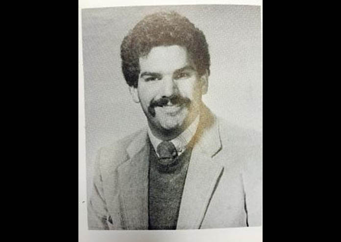 A photo of Kevin from the early days of radio. (Photo courtesy Townsquare Media NJ)