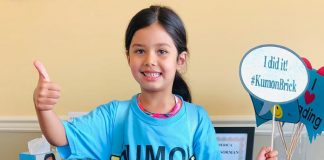 (Photo courtesy Kumon of Brick)