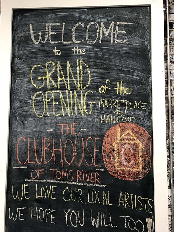 The grand opening of the Clubhouse. (Photo by Chris Lundy)