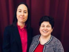 Erin Wheeler, left, and Eileen Della Volle. (Photo courtesy Facebook)