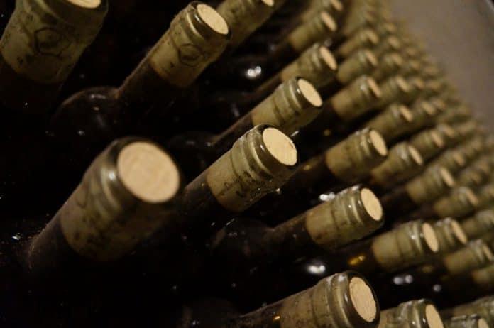 Wine bottles. (File photo)