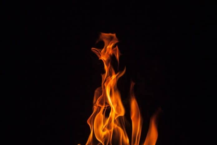 Flame. (File photo)