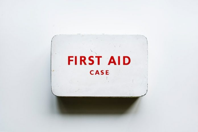 First Aid case. (File photo)