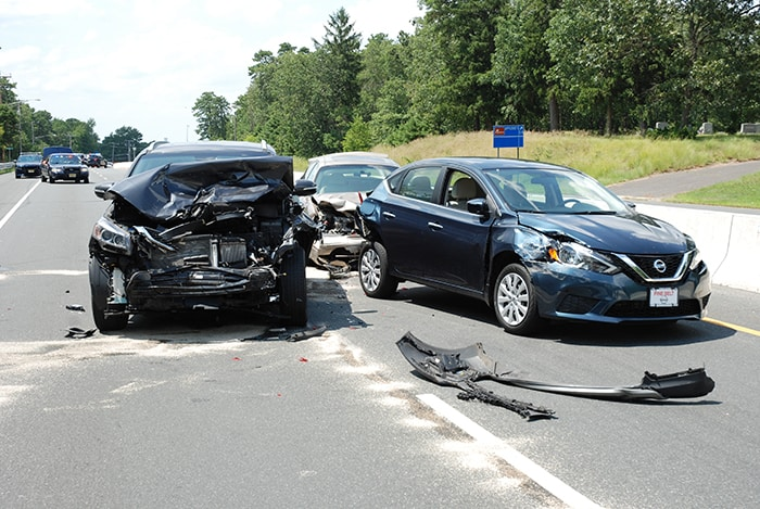 Serious Injuries After 5-Car Crash In Ocean County | Jersey