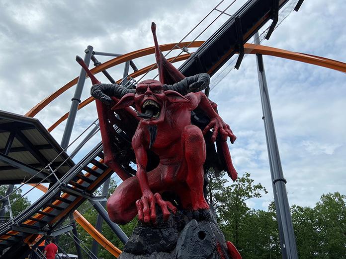 Video Record Setting Jersey Devil Coaster Opens June 13 Jersey Shore Online